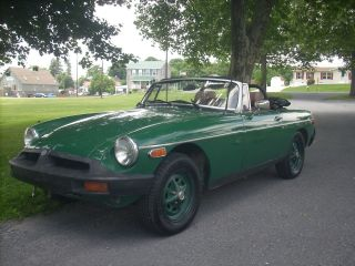 1975 Mg Mgb Convertible photo