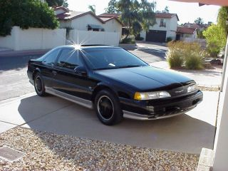 35th Anniversary Ford Thunderbird 1990 Charged Coupe V 6 photo