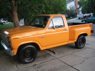 1980 Ford F - 100,  4.  9l,  Clifford Equipped,  Inliner Convention Special photo
