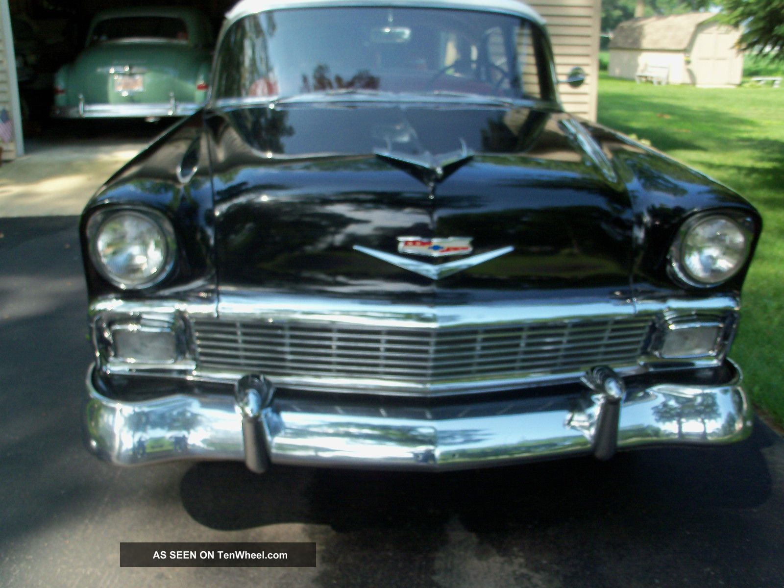 1956 chevrolet bel air base sedan 4 door 4 3l for 1956 chevy 4 door