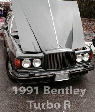 1991 Bentley Turbo R (98k),  One Prev.  Owner,  Inside Looks photo