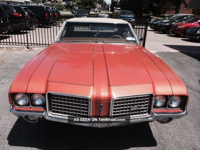 1972 Oldsmobile Cutless Supreme Cutlass photo