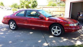 1996 Lincoln Mark Viii Base Coupe 2 - Door 4.  6l photo