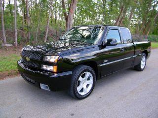 2003 Chevrolet Silverado 1500 Ss Extended Cab Pickup 4 - Door 6.  0l photo