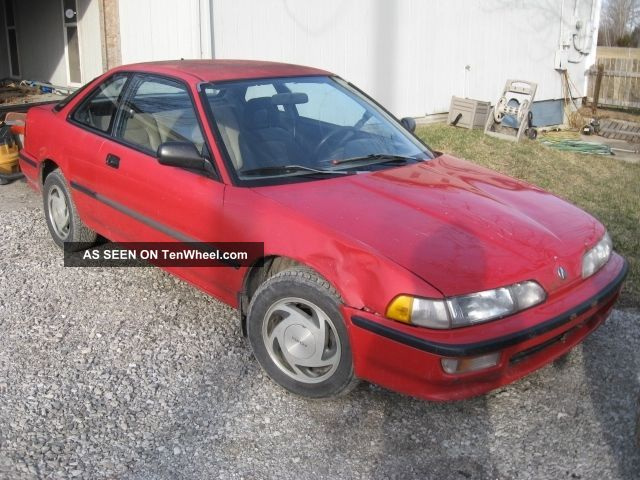 1993 Acura Integra; 5 - Speed Manual; Red; Fwd; Hatchback; 1.  8 L Inline 4 - Cylinder Integra photo