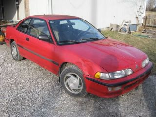 1993 Acura Integra; 5 - Speed Manual; Red; Fwd; Hatchback; 1.  8 L Inline 4 - Cylinder photo