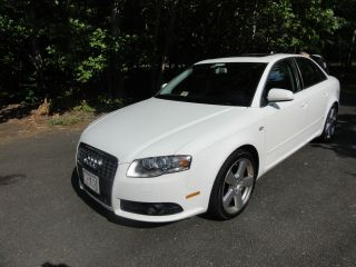 2008 Audi A4 Quattro S Line Sport Sedan 4 - Door 2.  0l photo