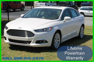 2014 Titanium Turbo 2l I4 16v Automatic Fwd Sedan photo