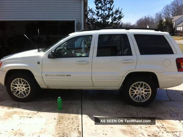 2004 Jeep Grand Cherokee Limited Sport Utility 4 - Door 4.  7l Grand Cherokee photo