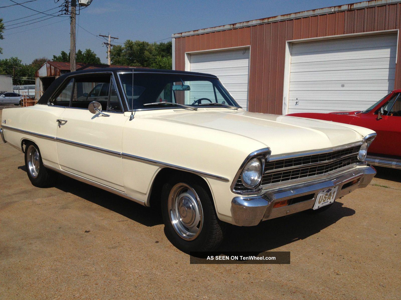 1967 Chevrolet Chevy Nova Ii 2 Sports Coupe Nova photo