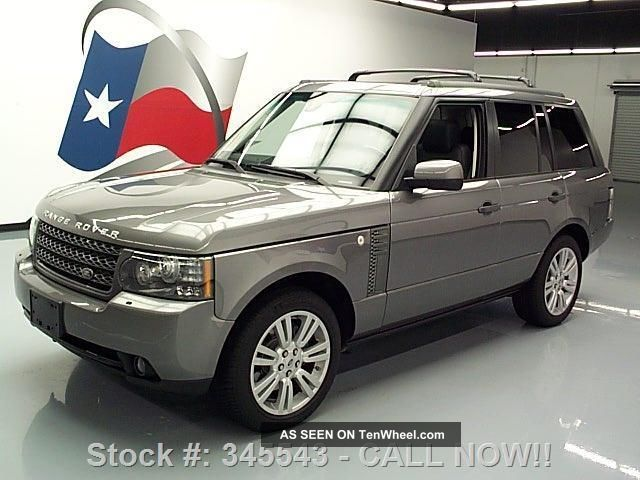 2011 Land Rover Range Rover Hse 4x4 Dvd 35k Texas Direct Auto Range Rover Sport photo