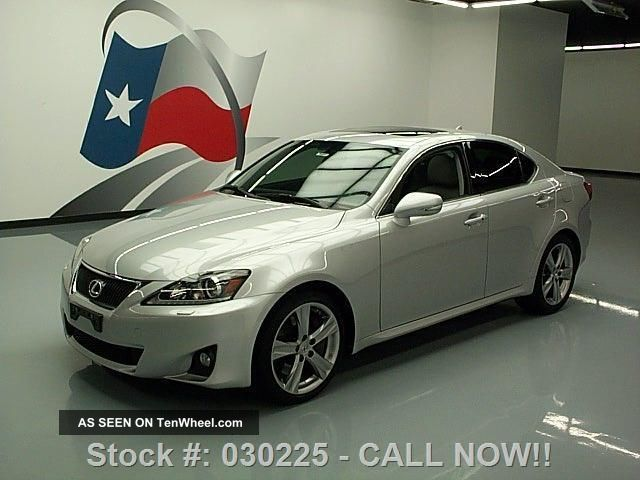 2012 Lexus Is350 Climate Seats 20k Texas Direct Auto IS photo