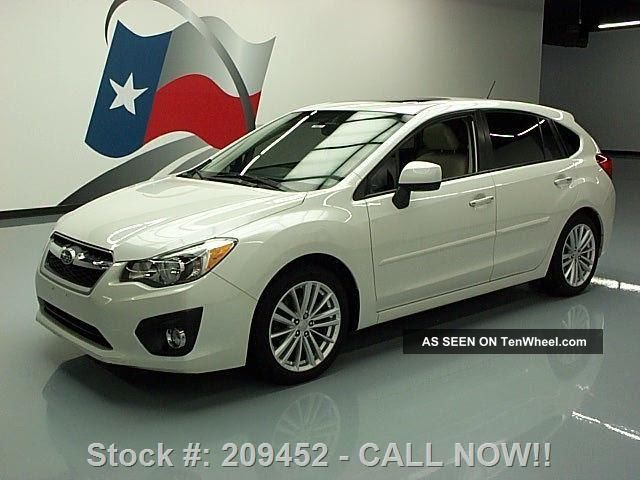 2013 Subaru Impreza 2.  0i Ltd Awd 16k Mi Texas Direct Auto Impreza photo