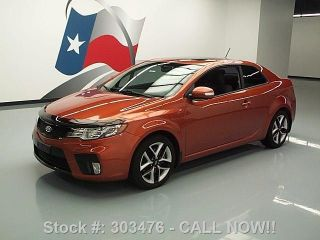 2010 Kia Forte Sx Koup Auto Alloy Wheels 50k Mi Texas Direct Auto photo