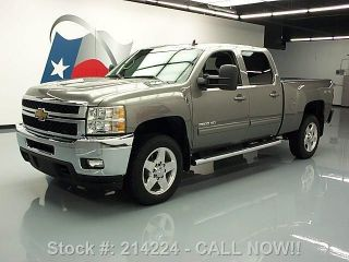 2012 Chevy Silverado 2500 Ltz Crew 4x4 Diesel Texas Direct Auto photo