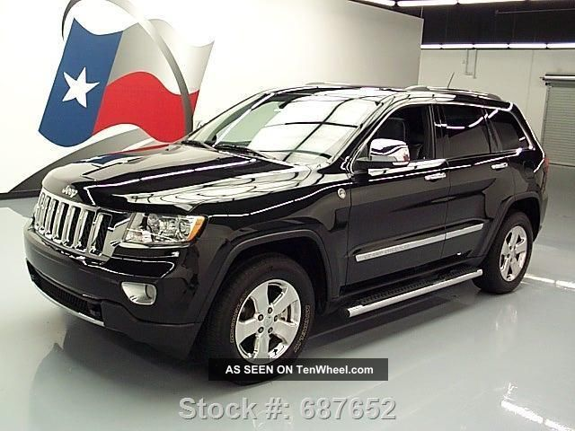 2011 Jeep Grand Cherokee Overland 4x4 Hemi Pano Texas Direct Auto Grand Cherokee photo