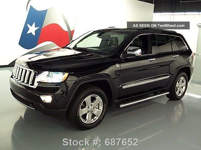 2011 jeep grand cherokee overland 4x4 hemi pano texas direct auto. Black Bedroom Furniture Sets. Home Design Ideas