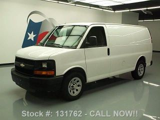 2013 Chevy Express 1500 Cargo Van Rear Partition 9k Mi Texas Direct Auto photo