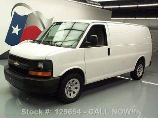 2013 Chevy Express 1500 Cargo Van Rear Partition 24k Mi Texas Direct Auto photo