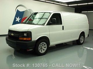 2013 Chevy Express 1500 Cargo Van Partition A / C 11k Mi Texas Direct Auto photo