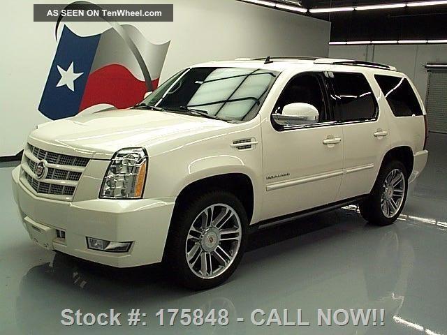 2013 Cadillac Escalade Premium Dvd 22 S 61k Texas Direct