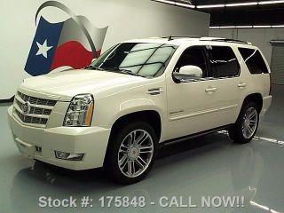 2013 Cadillac Escalade Premium Dvd 22 ' S 61k Texas Direct Auto photo