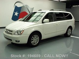 2008 Kia Sedona Ex 7 - Passenger Third Row Dvd Only 68k Texas Direct Auto photo