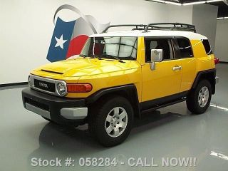 2009 Toyota Fj Cruiser 4x4 Auto Roof Rack 41k Texas Direct Auto photo