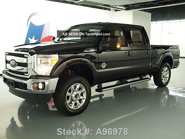 2013 ford f250 lariat crew fx4 4x4 6 7l diesel 21k texas direct auto. Black Bedroom Furniture Sets. Home Design Ideas