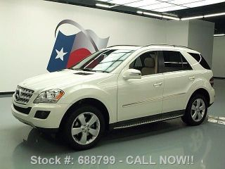 2011 Mercedes - Benz Ml350 P1 36k Mi Texas Direct Auto photo