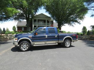 2009 Ford F - 350 Duty King Ranch Crew Cab Pickup 4 - Door 6.  4l photo