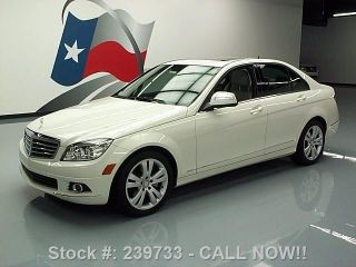 2009 Mercedes - Benz C300 Luxury P1 Htd Seats 35k Texas Direct Auto photo