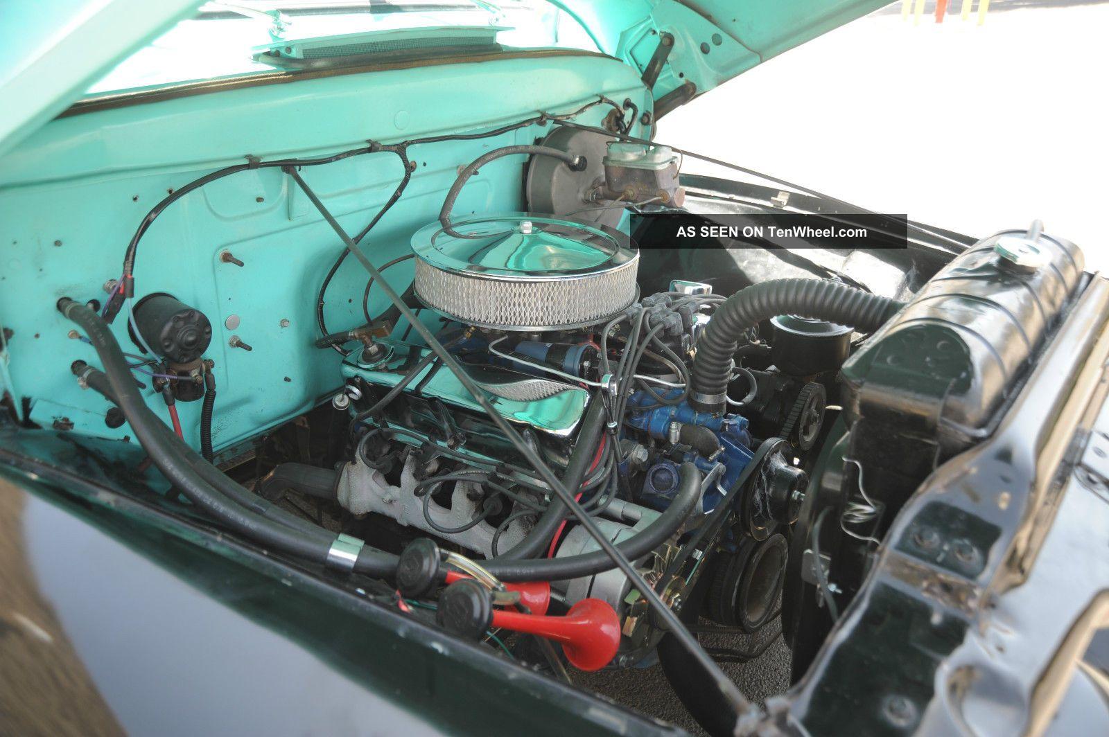 1955 Ford F100 Cool Resto Mod Vintage Truck With V8 Auto Digital Engine Dash Etc