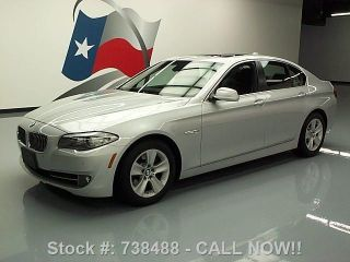 2011 Bmw 528i 46k Mi Texas Direct Auto photo