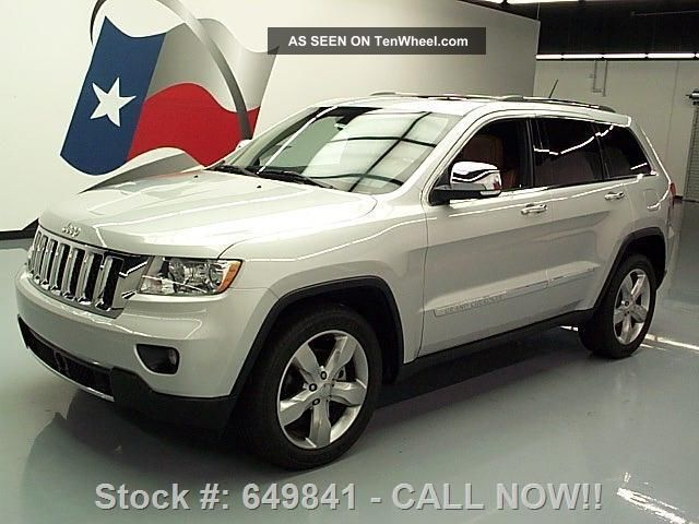 2011 Jeep Grand Cheroke Overland Hemi 17k Texas Direct Auto Grand Cherokee photo
