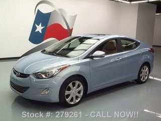 2012 Hyundai Elantra Limited Htd 20k Mi Texas Direct Auto photo