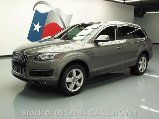 2012 Audi Q7 Quattro Premium Plus Awd Pano Roof 23k Texas Direct Auto photo