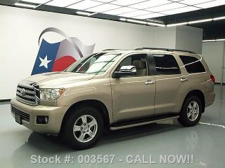 2008 Toyota Sequoia Limited Dvd 46k Texas Direct Auto photo