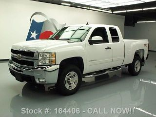 2009 Chevy Silverado 2500 Hd Ext Cab Z71 4x4 Diesel 54k Texas Direct Auto photo