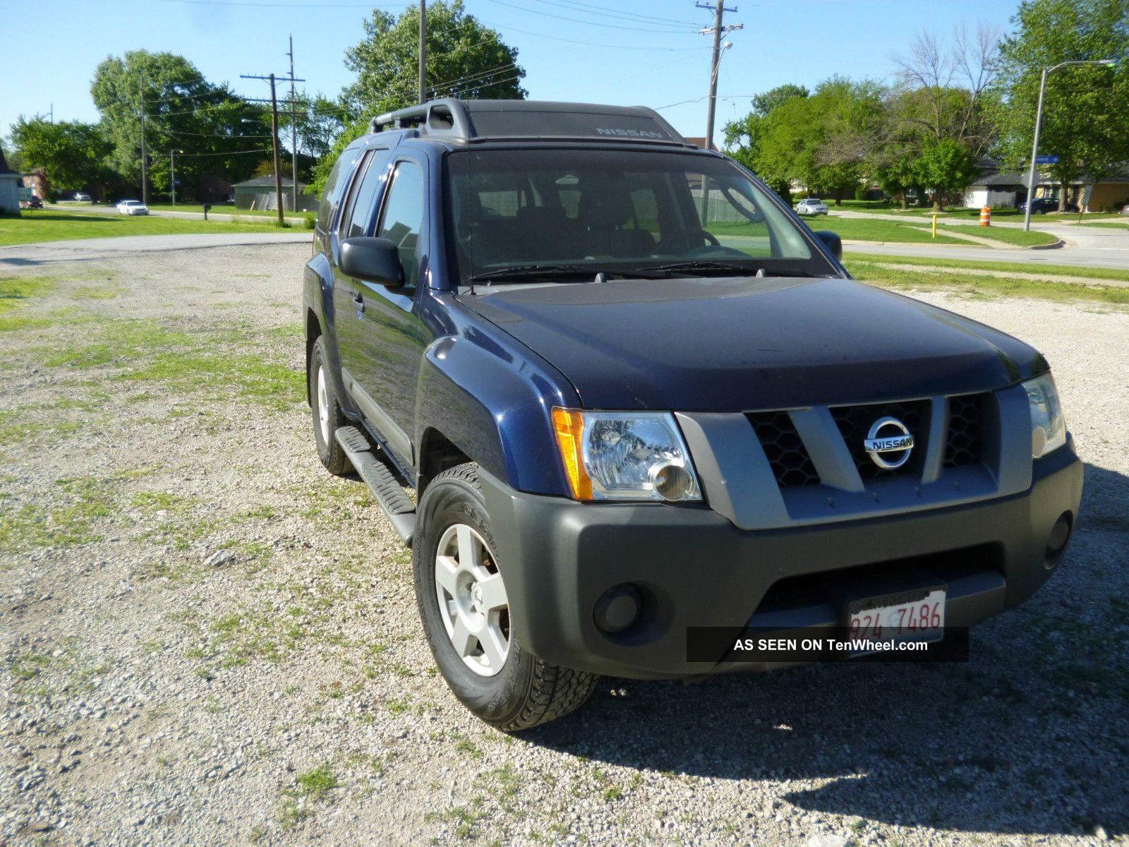 2006 Nissan Xterra S Sport Utility 4 Door 4 0l