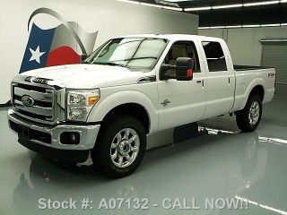 2011 Ford F250 Lariat Crew 4x4 Diesel 1k Mi Texas Direct Auto photo