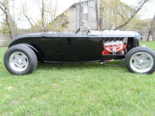 1932 Ford Roadster Channeled 355 / 350 Auto Trans,  Fun Hot Rod photo