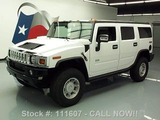 2007 Hummer H2 4x4 Bose Tow Hitch 67k Mi Texas Direct Auto photo