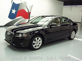 2011 Audi A4 2.  0t Premium Turbo 43k Mi Texas Direct Auto photo