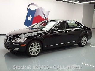 2007 Mercedes - Benz S550 Climate Seats 33k Texas Direct Auto photo