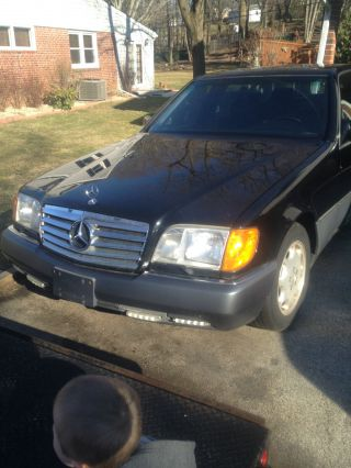 1994 Mercedes - Benz S420 Black On Black photo