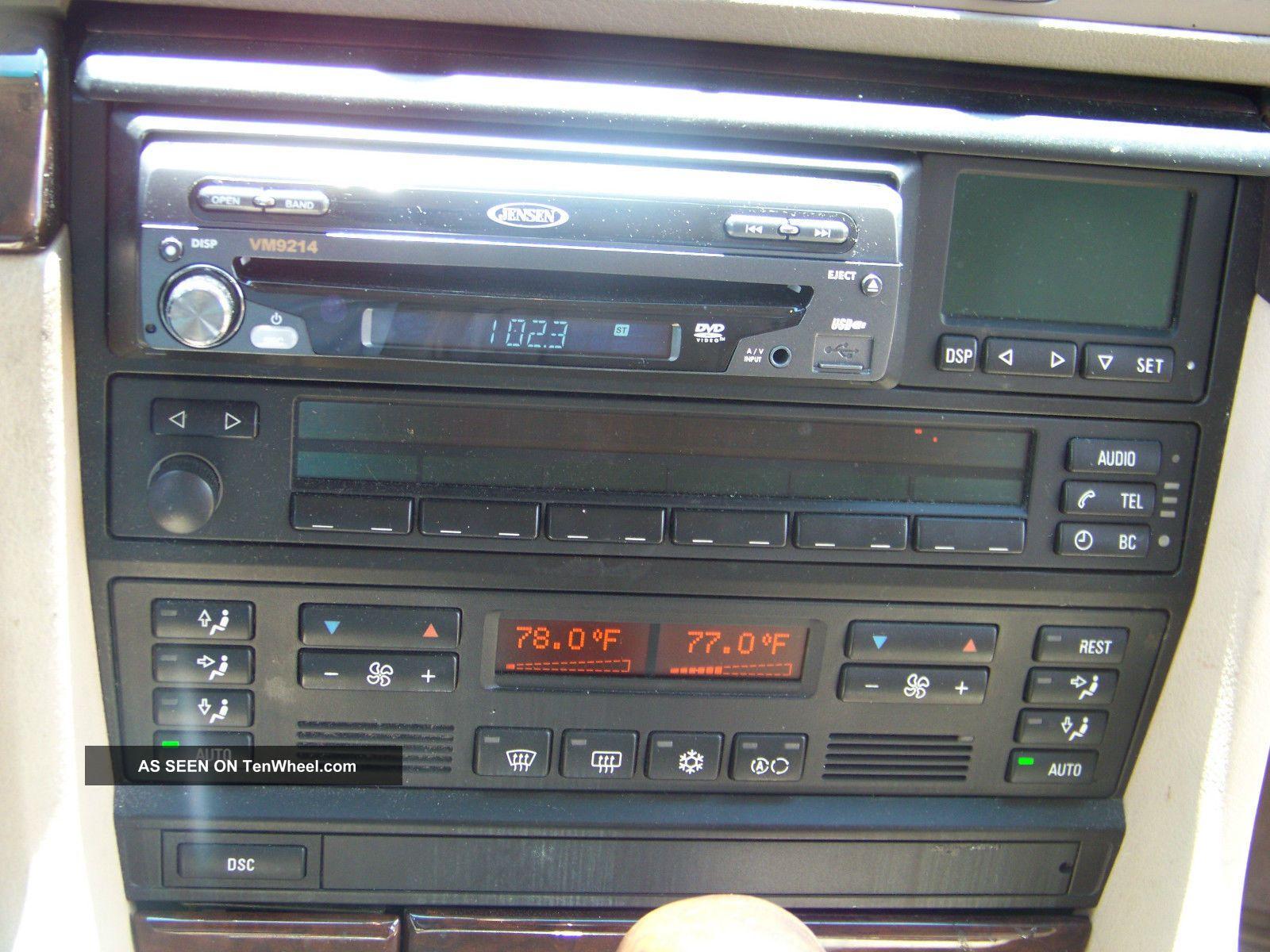 bmw 740i 1998 sound