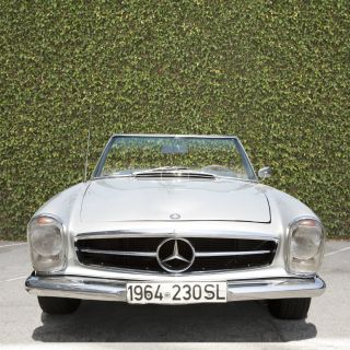1964 230sl Mercedes Benz photo