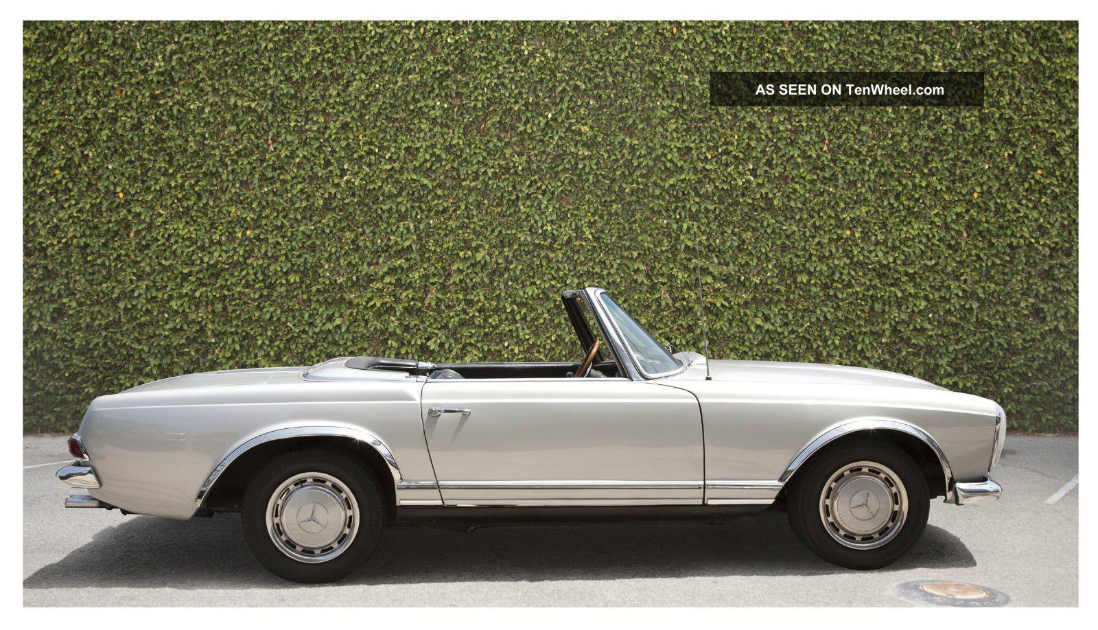 1964 230sl mercedes benz for Mercedes benz 230 sl