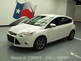 2013 Ford Focus Se Hatchback Sync Alloys 35k Mi Texas Direct Auto photo